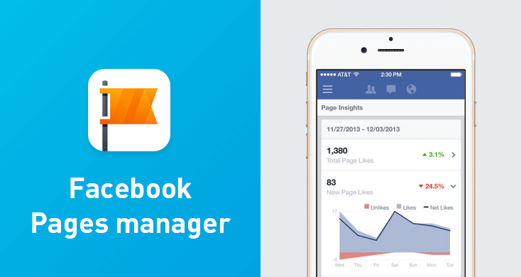 Facebook Manager - one of the top apps for entrepreneurs.