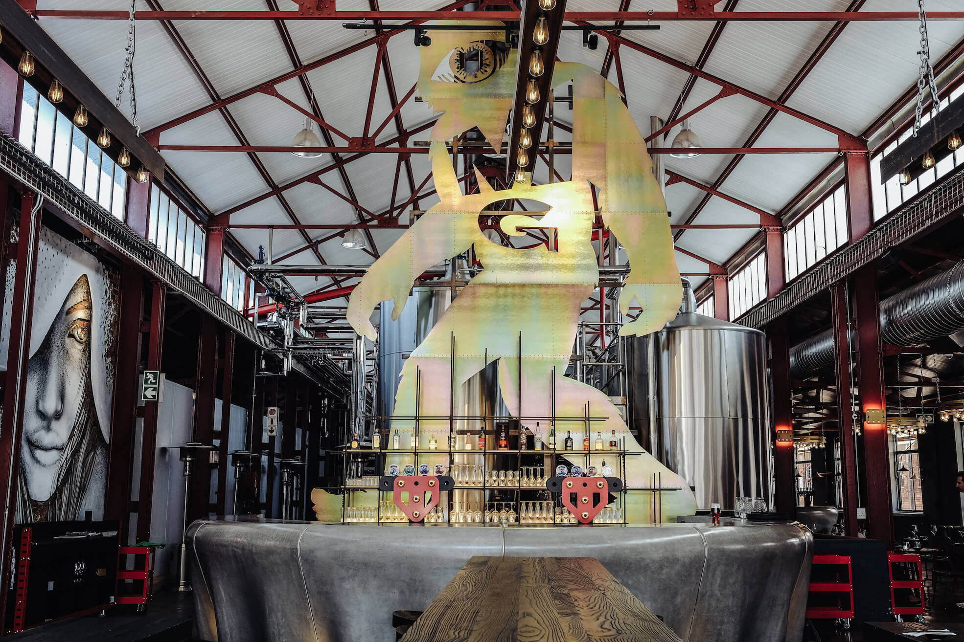 Mad Giant Brewery in Johannesburg.