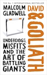 David and Goliath by Malcolm Gladwell in an article about books for entrepreneurs.