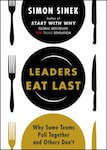 Leaders Eat Last by Simon Sinek in an article about books for entrepreneurs.