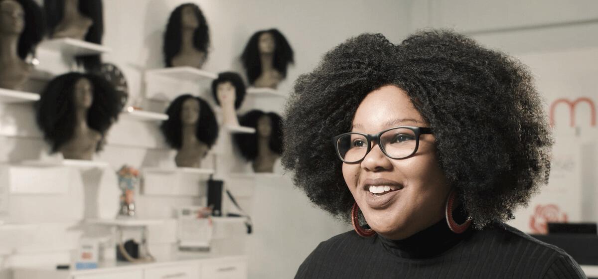 Hlobsile Manana of Mbali Rose Hair.