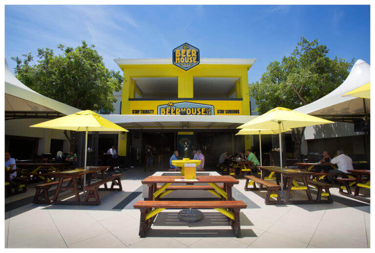 A beerhouse location in Johannesburg.