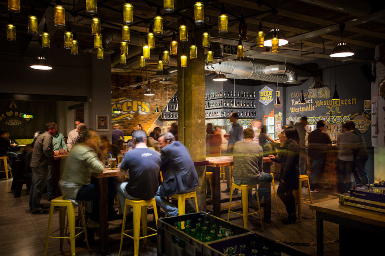 Inside a Beerhouse founded by Randolf Jorberg.