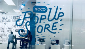 The Yoco popup store in Maponya Mall in Soweto.