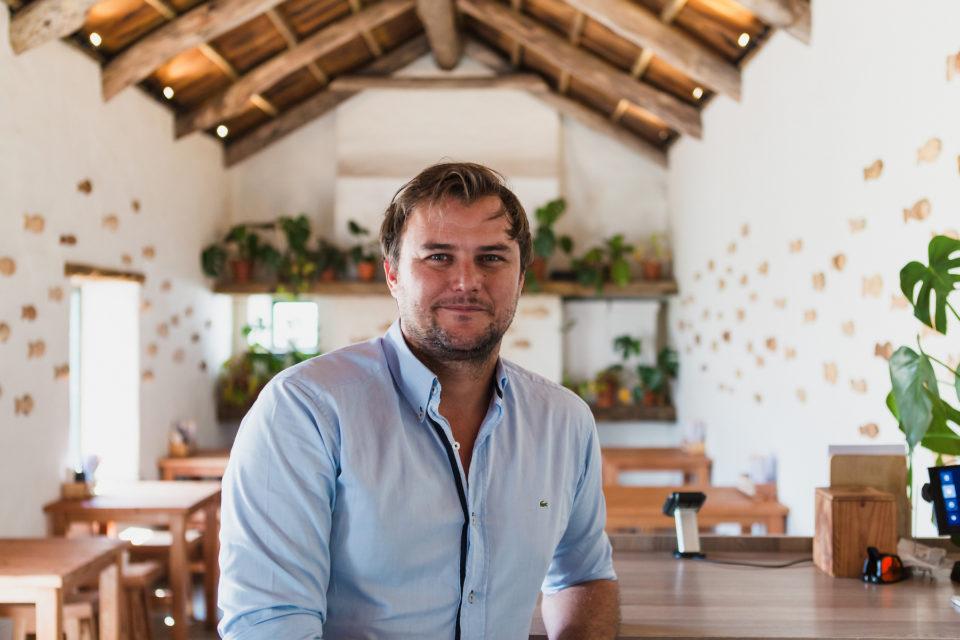 Christo Bornman, founder of Sushi Box.