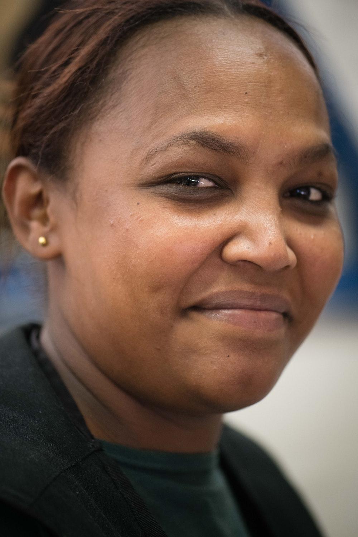 Ahisa, who works at Ubuntu Baba in retreat, Cape Town.