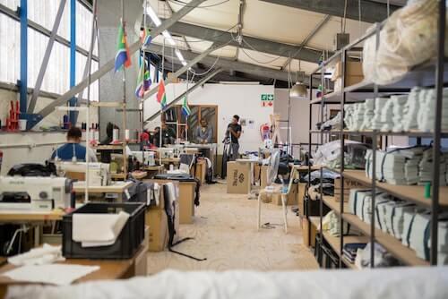 Inside the Ubuntu Baba factory.