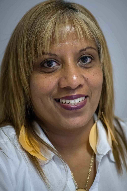 Nadia, who works at Ubuntu Baba in Retreat, Cape Town.