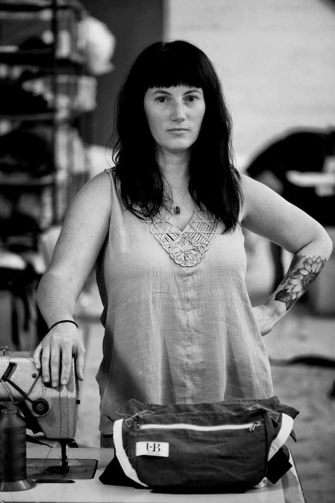 Shannon McLaughlin of Ubuntu Baba in Cape Town.