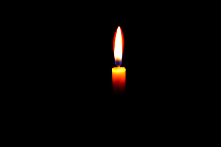 A image of a candle in the loadshedding article.