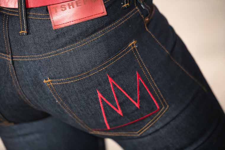 A pair of Tshepo's jeans.