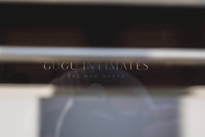 A Gugu Intimates pop up store.
