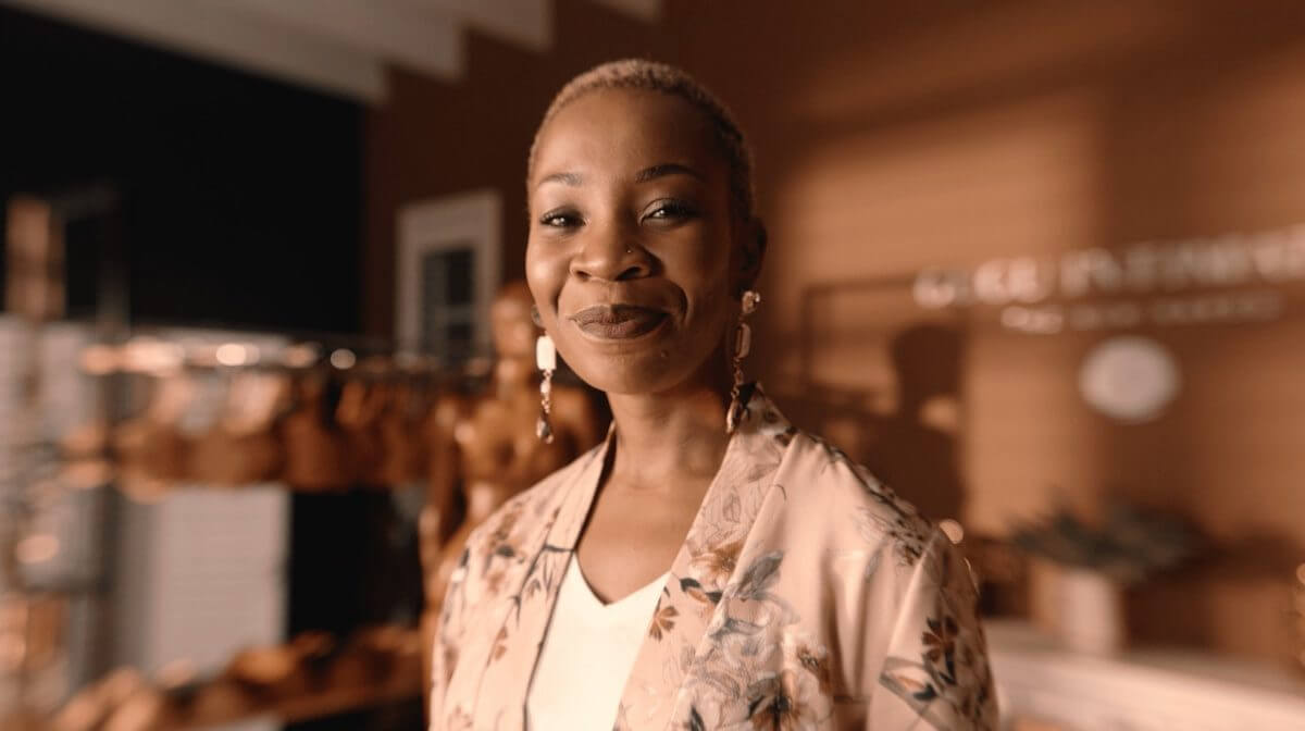 Gugu Nkabinde, CEO and founder of Gugu Intimates.