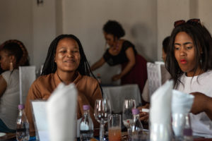 Women attending the Queencess Creation Women in Business event by Siwe Matshisi.