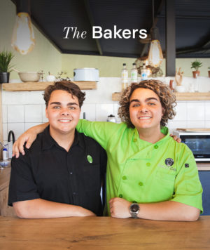 Armand and Juan of Bakery & Co. from Polokwane.
