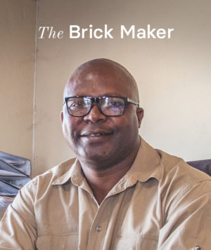 Phillip of Base Brick Manufacturing in Polokwane.