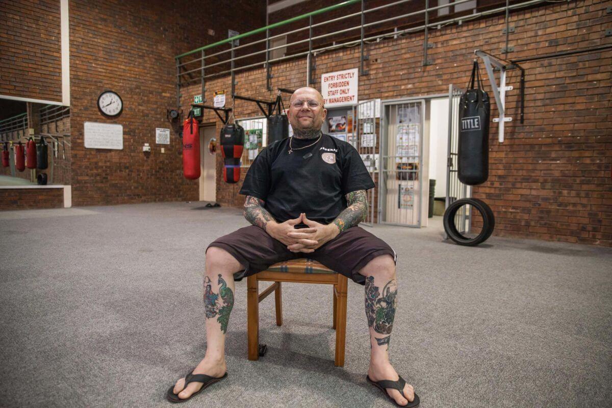 Henri Eksteen of Eksteen Martial Arts in Polokwane.