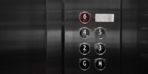 An image of the inside of an elevator in an article about making an elevator pitch.