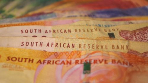 An image of South Africa rand notes in an article about small business funding.