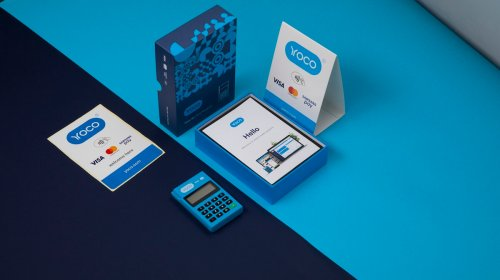 The Yoco Go and its packaging.